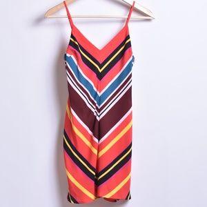 Express Chevron Pattern Dress, Sz XS P